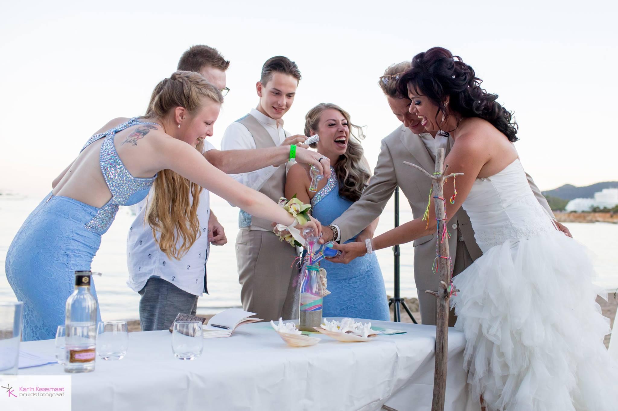 Zandceremonie Ibiza